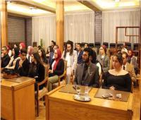 جامعة أكتوبر للعلوم الحديثة تفتتح نموذج محاكاة الأمم المتحدة للعام العاشر