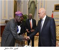 علي عبدالعال يستقبل رئيس لجنة «الشخصيات الأفريقية البارزة»