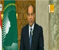 فيديو  السيسي: عقد اللجنة المشتركة بين مصر وجنوب أفريقيا بالربع الأول من 2020