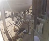صور  جامعة عين شمس توضح حقيقة انفجار تانك الأكسجين
