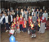 جامعة السادات تحتفل باليوم العالمي لمتحدي الإعاقة