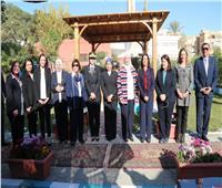 مايا مرسي تشهد افتتاح مركز«استضافة وتوجيه المرأة المعنفة» بـ6 أكتوبر