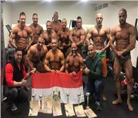 مصر تحقق نتائج متميزة ببطولة العالم للأساتذة في كمال الأجسام