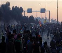 صدامات بين متظاهرين وقوات الأمن العراقية في وسط بغداد