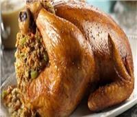 طبق اليوم .. «دجاج محشي بالفريك»