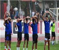 مران قوي للاعبي الأهلي الغائبين عن مواجهة دجلة