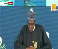 فيديو| رئيس نيجيريا: حصلنا على تمويل لمواجهة «بوكو حرام»