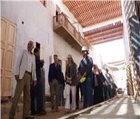 وفد الوكالة الأمريكية للتنمية الدولية ينهي زيارته لإسنا