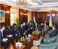 محافظ الإسكندرية يستقبل وفدا من مقاطعة قوانج دونج الصينية