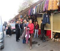 صور.. أمن القاهرة يشن حملة أمنية لإزالة الإشغالات والتعديات بالعاصمة