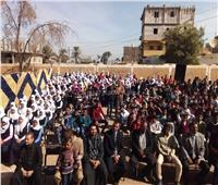 قافلة طبية ومركز ثقافي وجوائز مالية لطلاب أبو حزام وحمرة دوم بنجع حمادي