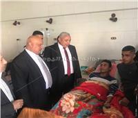 زيارة مفاجئة لوكيل صحة أسيوط بمستشفى الحميات
