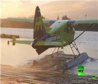 شاهد| اختبار طائرة تعمل بالطاقة الكهربائية لأول مرة