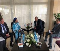 شكري يلتقي نائبة الأمين العام للأمم المتحدة على هامش منتدى أسوان