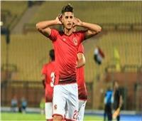 الشيخ يسجل ثالث أهداف الأهلي أمام وادي دجلة