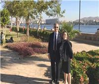 السفير الأمريكي من أسوان: سأدعو عائلتي وأصدقائي لمشاهدة حضارة مصر القديمة