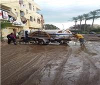 أمطار في دمياط توقف حركة الصيد ببوغاز عزبة البرج
