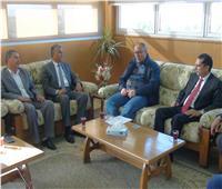 استعدادًا لمهرجان دندرة.. رئيس جامعة جنوب الوادي يستقبل رئيس دار الأوبرا المصرية