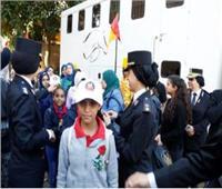 وزارة الداخلية تشارك طلاب مدارس ذوي الإعاقة الاحتفال بأعياد الطفولة