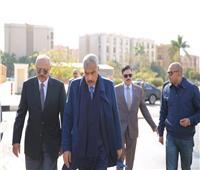 بالصور.. هشام طلعت مصطفى في افتتاح مكتب الشهر العقاري بالرحاب