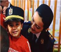 وفد من ضباط حقوق الإنسان ومديرية أمن القاهرة في زيارة لبعض دور الأيتام