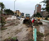 موجة طقس سيء مصحوبة بأمطار غزيرة تضرب قرى ومدن الشرقية
