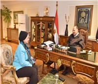 محافظ أسيوط يلتقي نائب رئيس الجامعة لبحث تفعيل المشاركة بالمبادرات الرئاسية