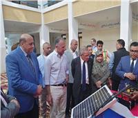 بالصور.. السفير الأمريكي بالقاهرة يشيد بمستوى طلاب مدرسة الطاقة الشمسية بأسوان
