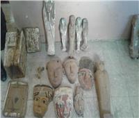 لجنة وزراية تحسم أثرية مئات القطع ضُبطت بمركز طبي بالصعيد