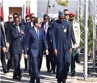 تفاصيل لقاء الرئيس السيسي بنظيره النيجيري في أسوان