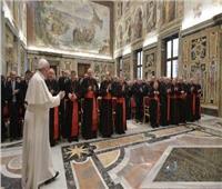البابا فرنسيس يستقبل مجمع دعاوى القديسين
