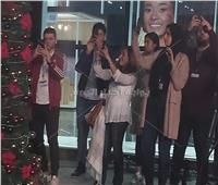 منتدى شباب العالم| شيري عادل تشارك في احتفالية شجرة رأس السنة