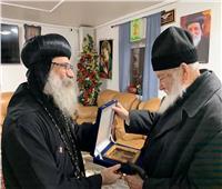 الأنبا أباكير يستقبل مطران الكنيسة اليونانية بديوكليا