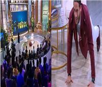 فيديو| رمضان صبحي يلعب «ضغط» على أنغام «مافيا»