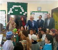 «حجازي» يتفقد سير العملية التعليمية بالمدرسة الحكومية الدولية بأكتوبر