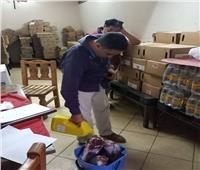 إعدام أغذية فاسدة وسحب 16 عينة أغذية للتأكد من سلامتها بالبحر الأحمر