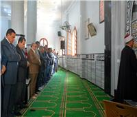 محافظ البحيرةيفتتح مسجد الغريانى بكفر الدوار