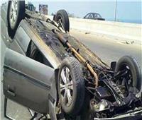 إصابة ٣ أشخاص في انقلاب سيارة ملاكي بالساحلي الدولي بادكو