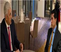 وزير الرياضةيلتقي نظيره العراقي بموناكو ويبحثان آليات التعاون