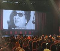 صور| أم كلثوم بافتتاح مسرح شباب العالم.. وعرض مبهر للرسم بالرمال