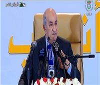 الرئيس الجزائري المنتخب يقول إنه سيبدأ مشاورات من أجل دستور جديد