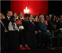 الرئيس السيسي وقرينته يشهدان افتتاح فعاليات مسرح شباب العالم بشرم الشيخ