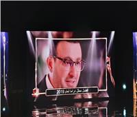 بعد تكريمه في الأفضل 2019| أحمد السقا: مصر قوية جدا في الفن