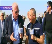 شاهد| خالد فودة: من يحاول اختراق السور الأمني يتم القبض عليه خلال 5 دقائق