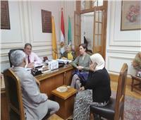 «عميد علوم القاهرة» يبحث مع نائب المدير الإقليمي لـ«لامديست» التعاون المشترك