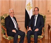 السيسي يجتمع مع محمود عباس ويتباحثان حول «القضية الفلسطينية»