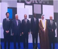 الرئيس الفلسطيني يشارك في انطلاق أعمال منتدى شباب العالم بشرم الشيخ
