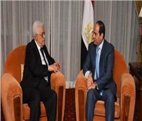 الرئيس الفلسطيني يختتم زيارة رسمية إلى مصر بلقاء السيسي