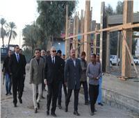 محافظ قنا: انتهاء إنشاء محطة مياه حجازة إبريل القادم