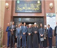 «آمنة» و«علام»يشهدانحفل حصول كلية اللغة العربية بالبحيرة على اعتماد الجودة